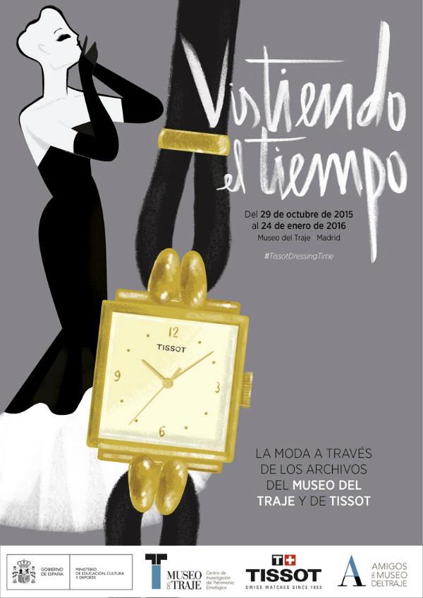 Hasta el 24 de enero podéis visitar 'Vistiendo el tiempo' en el Museo del Traje.