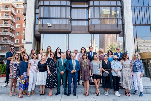 Foto de familia de los participantes en MFShow Men y MFShow Women.