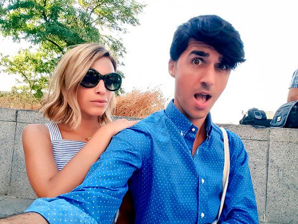 Flora González y yo estaremos al frente de las retransmisiones de MFShow Men. ¡Equipazo!