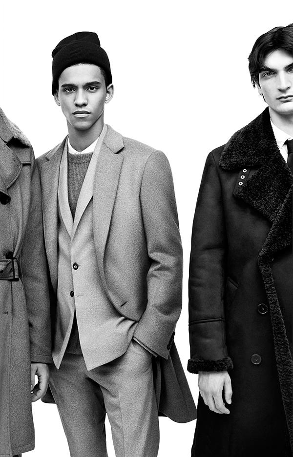 El hombre también se ha incorporado como cliente al mundo de la moda. © Zara